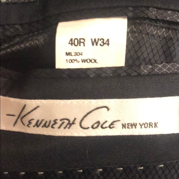 Kenneth Cole Other - Kenneth Cole black sport coat